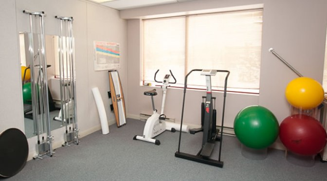 Rehabilitation equipment at Ottawa's PhysioFirst